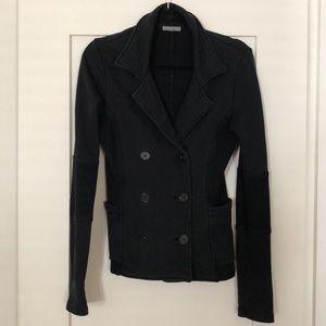 James Peres relaxed cotton black blazer ♠️